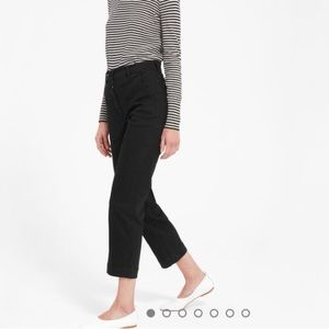 Everlane straight cropped pants